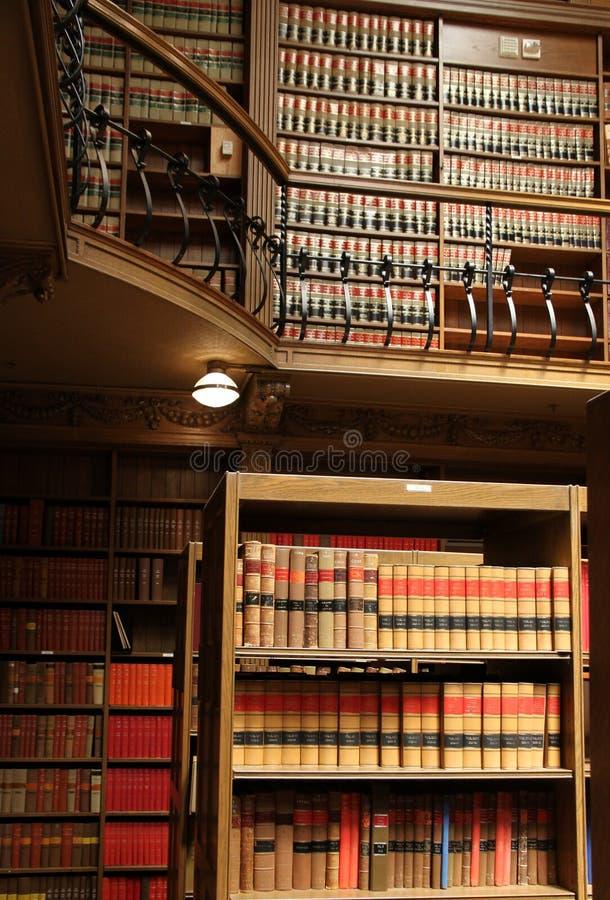 biblioteczna prawo szkoła obraz stock