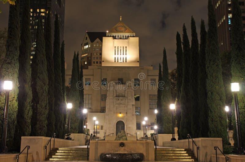 biblioteczny Angeles społeczeństwo los fotografia stock