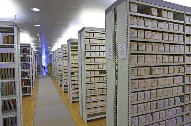 Biblioteczny katalog obrazy royalty free