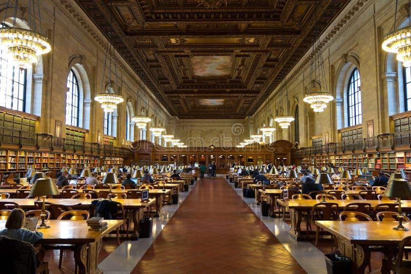 biblioteczny nowy jawny York zdjęcia stock