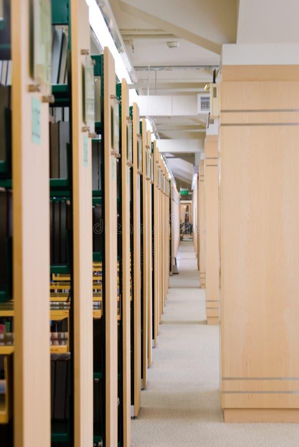 Biblioteczny wnętrze obraz stock