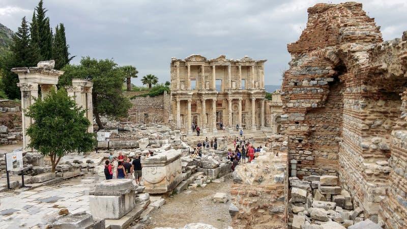 Biblioteka Celsius, Ephesus, Turkey2 obraz royalty free