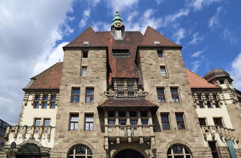Biblioteka historyczna w Bremie, Niemcy fotografia royalty free