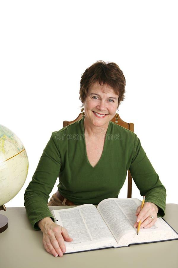 bibliotekarz wystarczająco zdjęcie royalty free