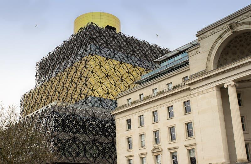 Bibliothèque à Birmingham, Angleterre photo libre de droits