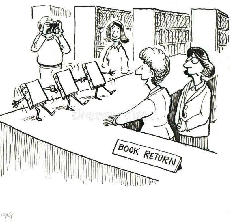 Bibliothèque illustration stock