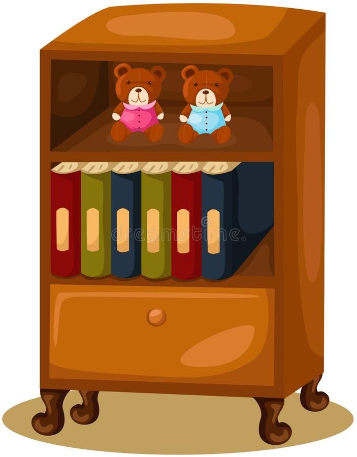 bibliothèque illustration libre de droits