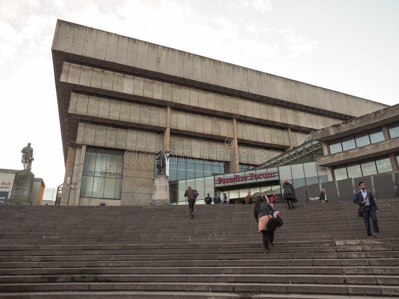 Bibliothèque centrale à Birmingham photo stock