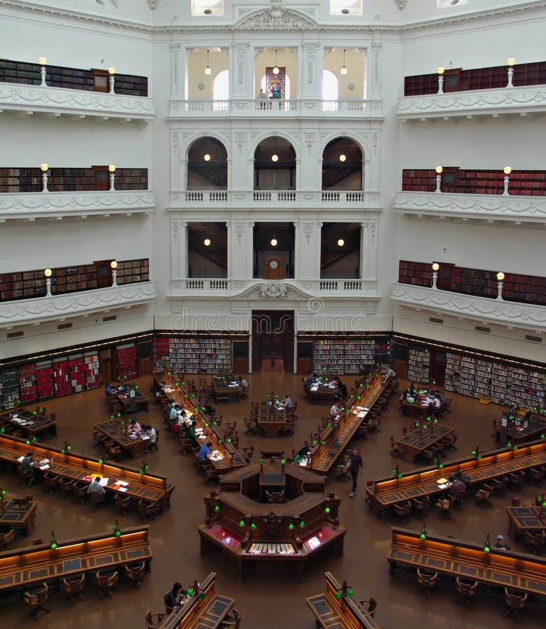 Bibliothèque d'état de Victoria photo libre de droits