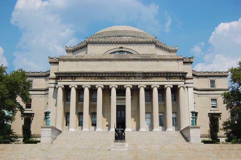 Bibliothèque d'Université de Columbia à New York City photos libres de droits