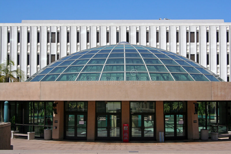 Bibliothèque d'université de l'Etat de San Diego photographie stock libre de droits