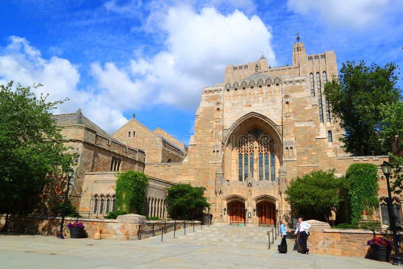 Bibliothèque d'Université de Yale image libre de droits