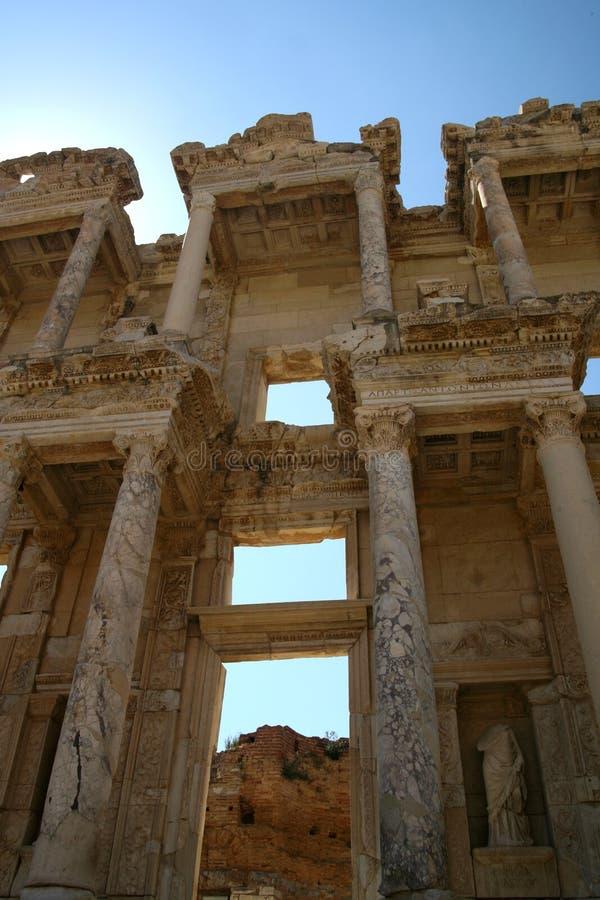 Bibliothèque dans Efes/Ephesus photo libre de droits