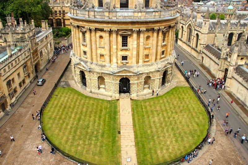 Bibliothèque de Bodleian à Oxford images stock