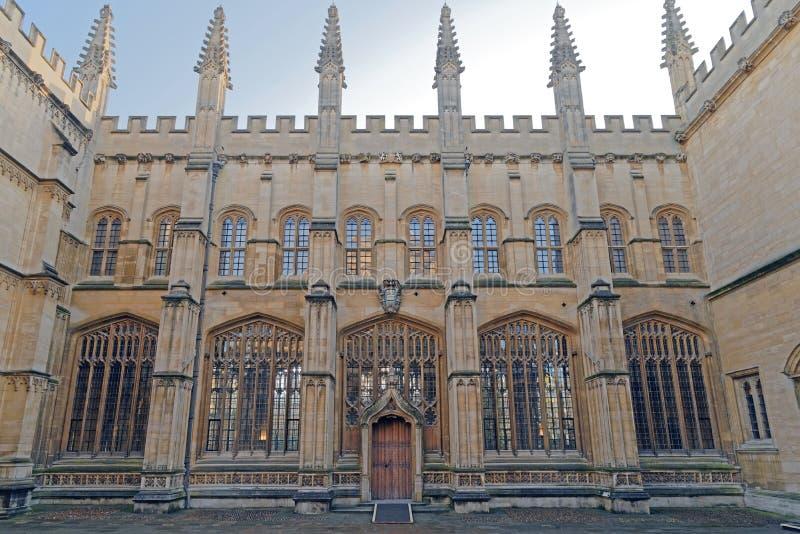 Bibliothèque de Bodleian à Oxford, Angleterre photographie stock