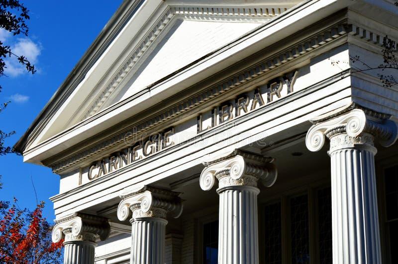 Bibliothèque de Carnegie images stock