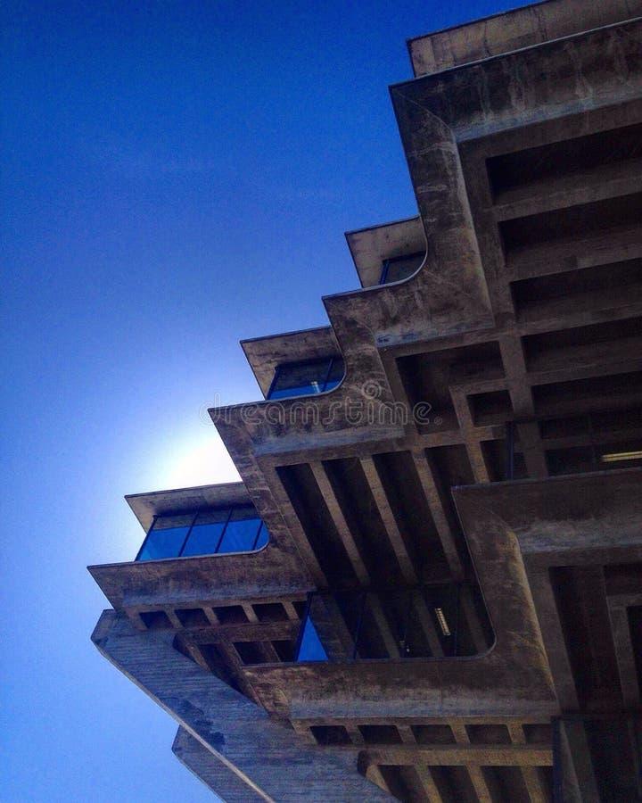 Bibliothèque de geisel d'UCSD image stock