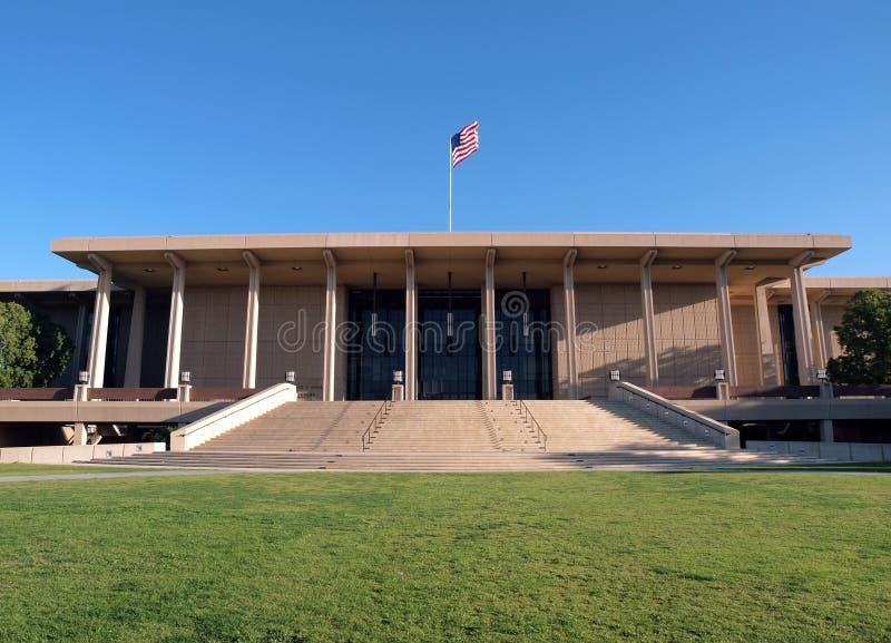 Bibliothèque de Northridge d'université de l'Etat d'Eao photo libre de droits