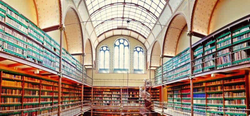 Bibliothèque de Rijksmuseum photographie stock