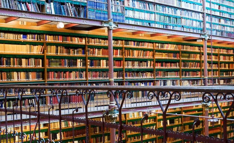 Bibliothèque de Rijksmuseum photo libre de droits