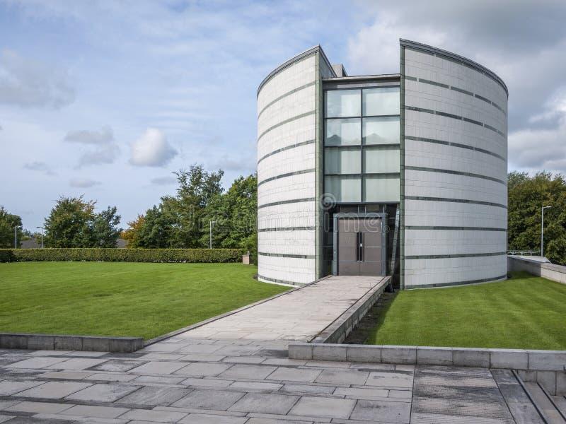 Bibliothèque de Ruskin, université de Lancaster photos stock