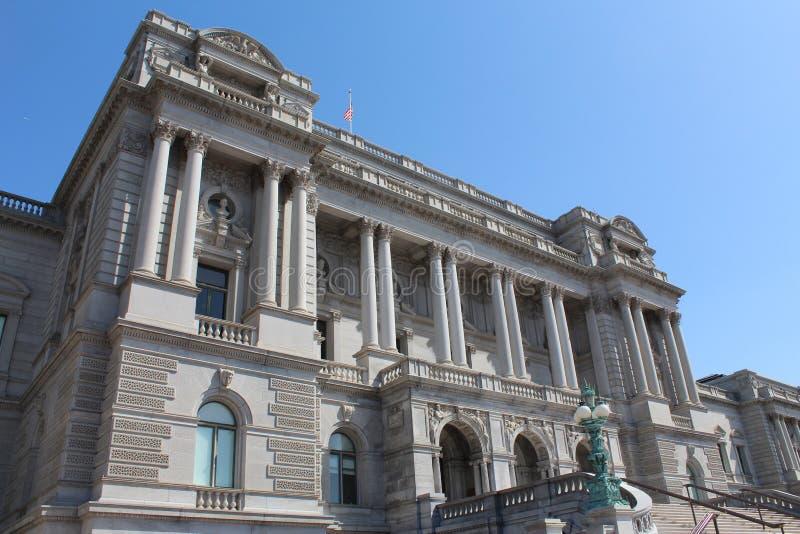 Bibliothèque du Congrès photo stock