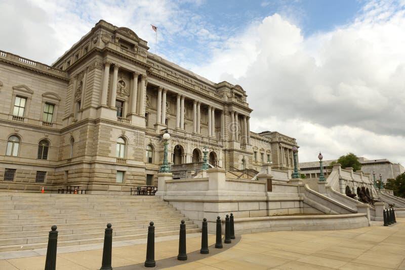 Bibliothèque du Congrès dans le C.C photos stock
