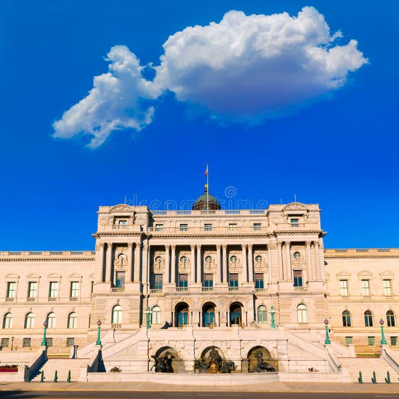 Bibliothèque du Congrès Thomas Jefferson à Washington image stock