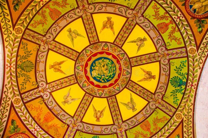 Bibliothèque du Congrès, Washington, C.C, Etats-Unis image stock