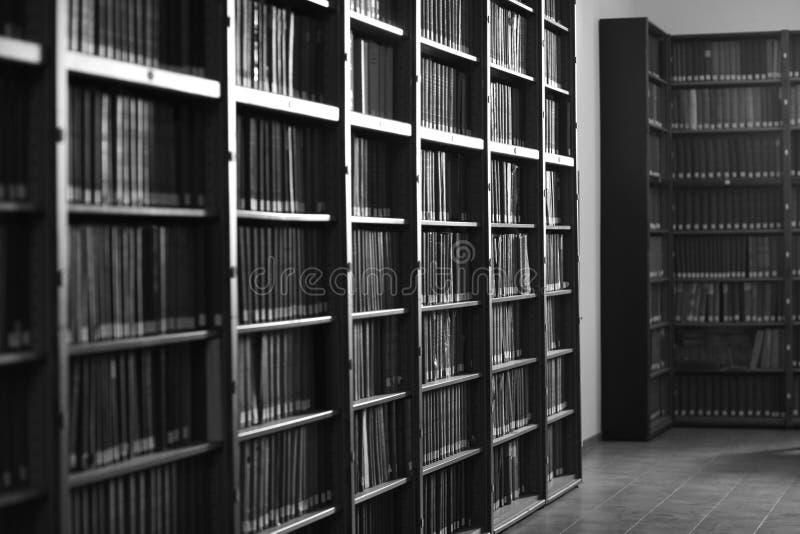 Bibliothèque italienne images stock