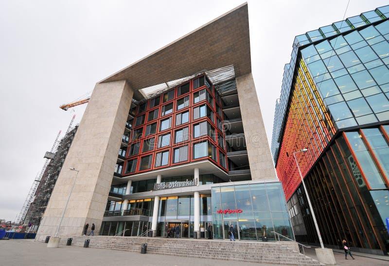 Bibliothèque publique centrale - Amsterdam, Pays-Bas photo stock