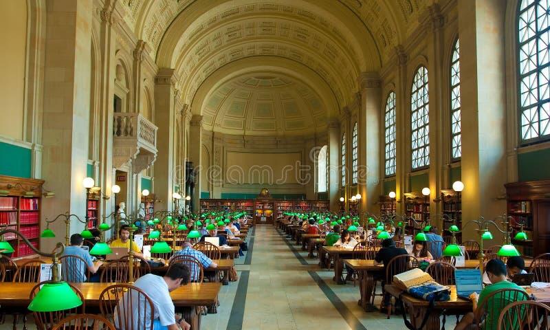 Bibliothèque publique de Boston photo libre de droits