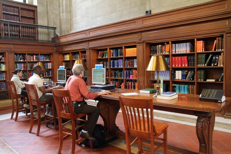 Bibliothèque publique de New York photos libres de droits