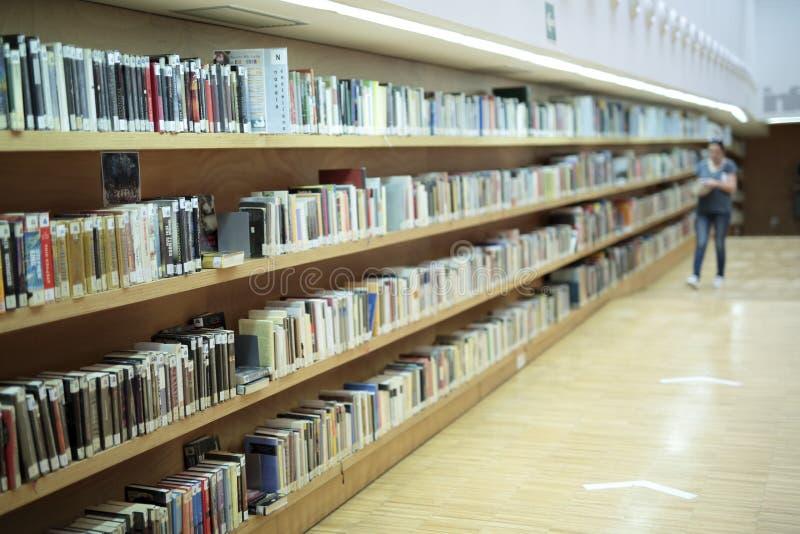 Bibliothèque publique de San Vicente del Raspeig photos stock