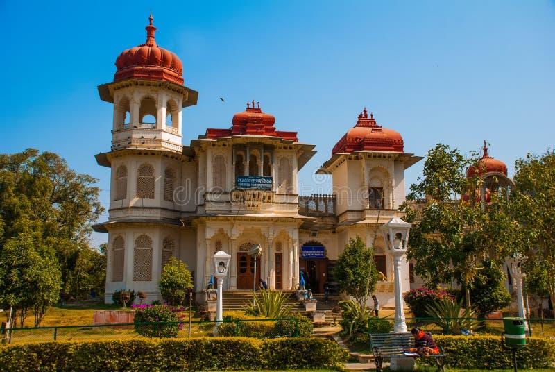 bibliothèque Udaipur, Inde photo stock