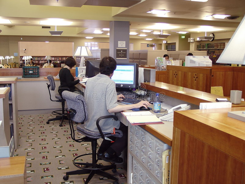 Bibliothécaires images libres de droits