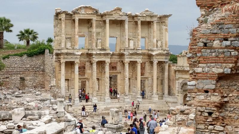 Biblioth?que de Celsius, Ephesus, Turkey2 photographie stock