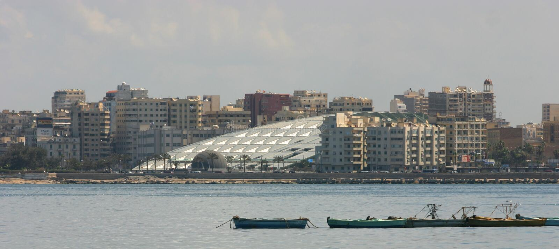 Arkiv av Alexandria arkivbild