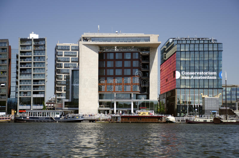 Bibliotheek Amsterdam photographie stock
