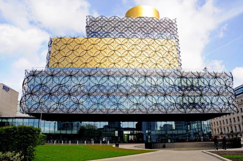 Bibliotheek van Birmingham stock foto