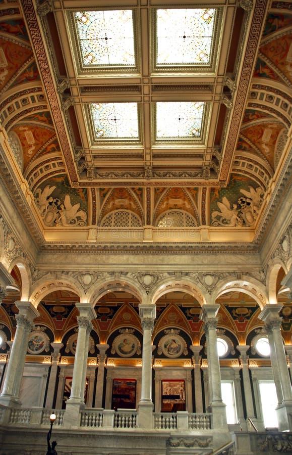Download Bibliotheek van Congres stock afbeelding. Afbeelding bestaande uit kleur - 10775677
