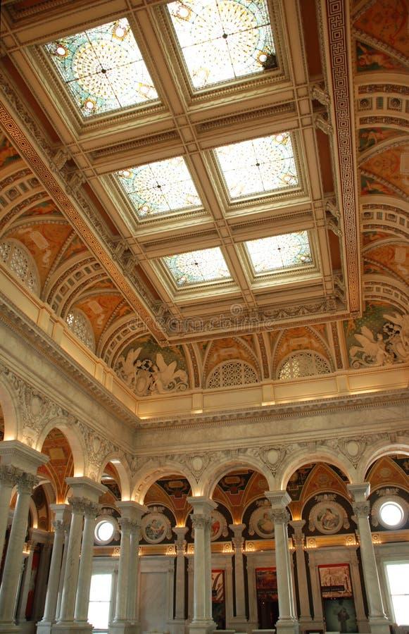 Download Bibliotheek van Congres stock afbeelding. Afbeelding bestaande uit kolommen - 10775683