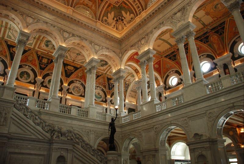 Download Bibliotheek van Congres stock foto. Afbeelding bestaande uit kolommen - 10775686