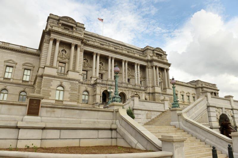 Bibliotheek van Congres in gelijkstroom royalty-vrije stock afbeelding