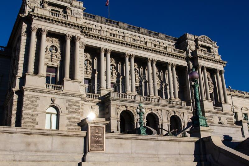 Bibliotheek van het Congres stock fotografie