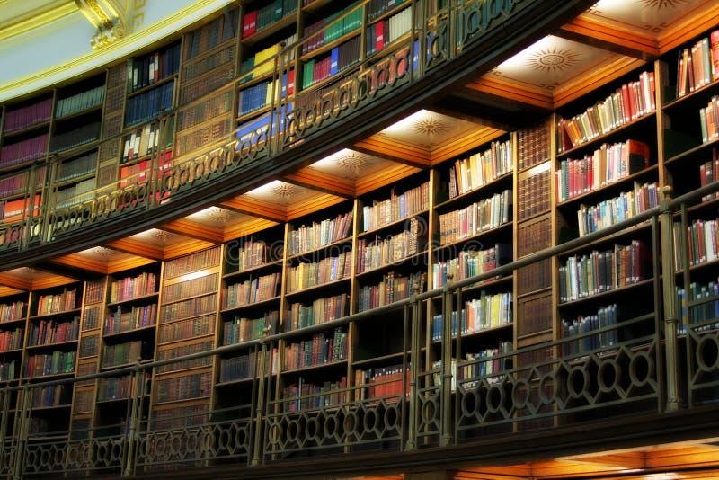 Bibliothek stockfoto