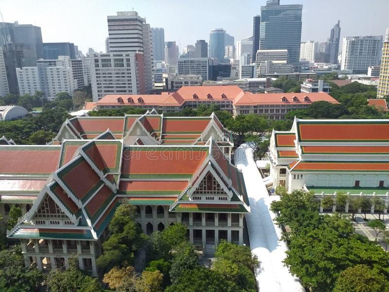 Bibliothek der Universität Chulalongkorn, die älteste Universität Thailands lizenzfreie stockfotografie