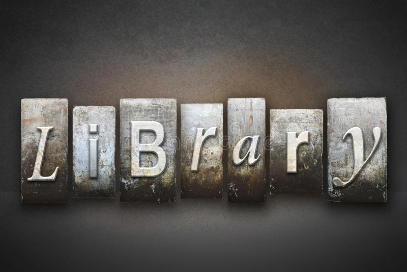 Bibliotheks-Briefbeschwerer stockbilder