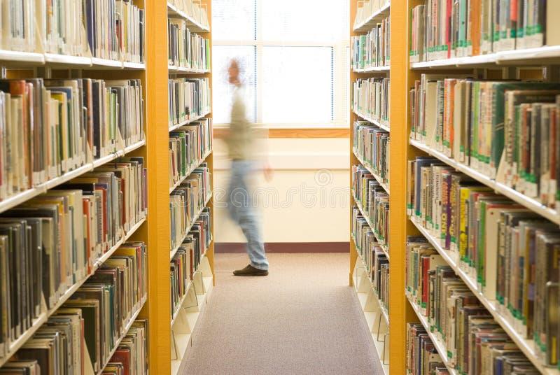 Bibliotheksgönner lizenzfreies stockbild