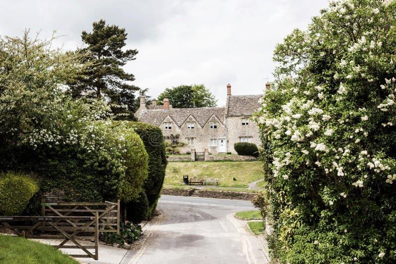 Bibury, los cotswolds en Inglaterra fotografía de archivo libre de regalías